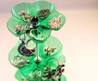 Stojan na šperky z PET láhve