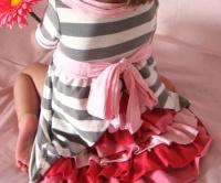 b0afb0d4237 Šaty pro princeznu ze starých triček