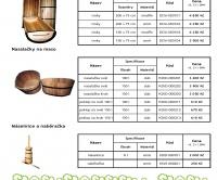 Dřevěné garáže ceník