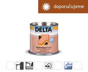 D - Hydrolasur 5.10, barva na dřevo