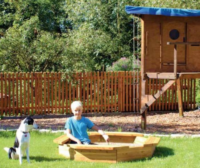dětské pískoviště, dřevěné pískoviště