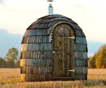Sauna iglu single