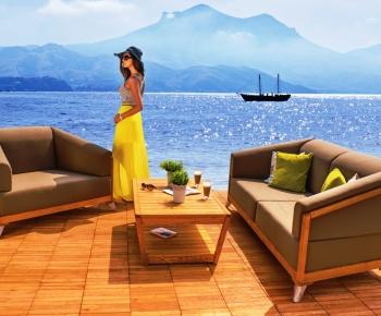sedačka akát, luxusní sedačka akát, dřevo