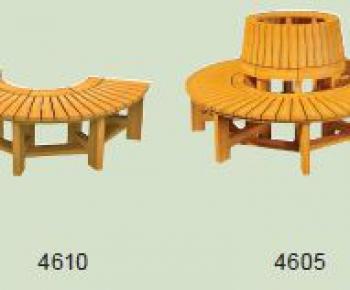 Kruhová lavice