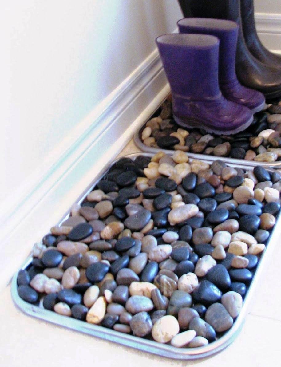 rohožka z kamení