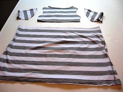 Přešívání starého oblečení