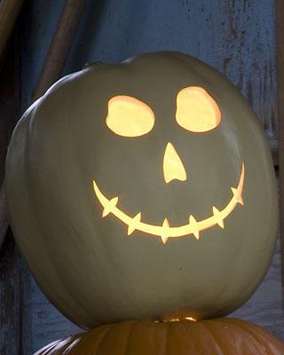 Halloween - svítící dýně - návod