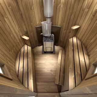 lavice do saquny, saunové lavice, thermowood